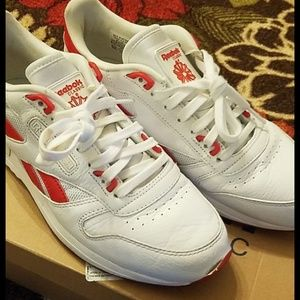 Reebok Classic leather 2.0 White and Primal red